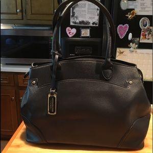 London Fog Black Satchel shoulder bag. XL